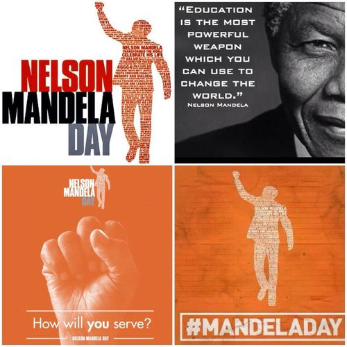It is that day again, the World Gets To Give 67Minutes Of Their Time In His Honor Nelsonmandeladay WorldNelsonMandela. Spirit Of Togetherness Will Shine Today! ✊ Amandla!