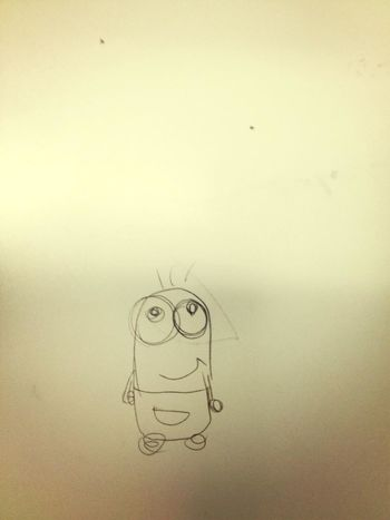 At School Drawing Dispicable Me