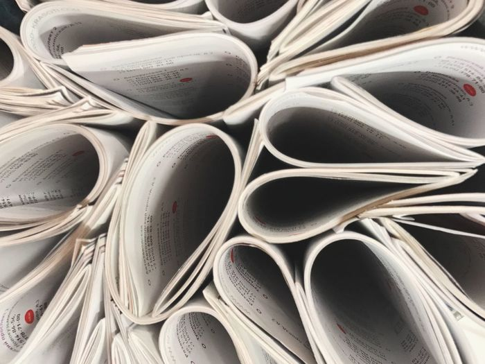 Abstract Photography Abstract Paper View Textured  Magazines Indoors  Stack Education Day