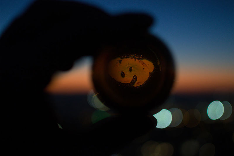 Granada Granada, Spain Andalucía Albaicin Albaycin Sacromonte San Migueal Del Alto Beer Bottle Close-up Geometric Shape Circle Holding Human Hand Night Hand One Person Human Body Part Shape Sky Outdoors Nature Unrecognizable Person Sunset Illuminated Silhouette Focus On Foreground Selective Focus