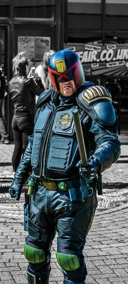 Never judge anyone about anything even if you know them... There's only one Judge and this is him!!! Hanging Out Taking Photos Check This Out Nikon D5200 Photography Judge Dredd Judgement Day Just For Fun Eye4photography Photooftheday  The Judge