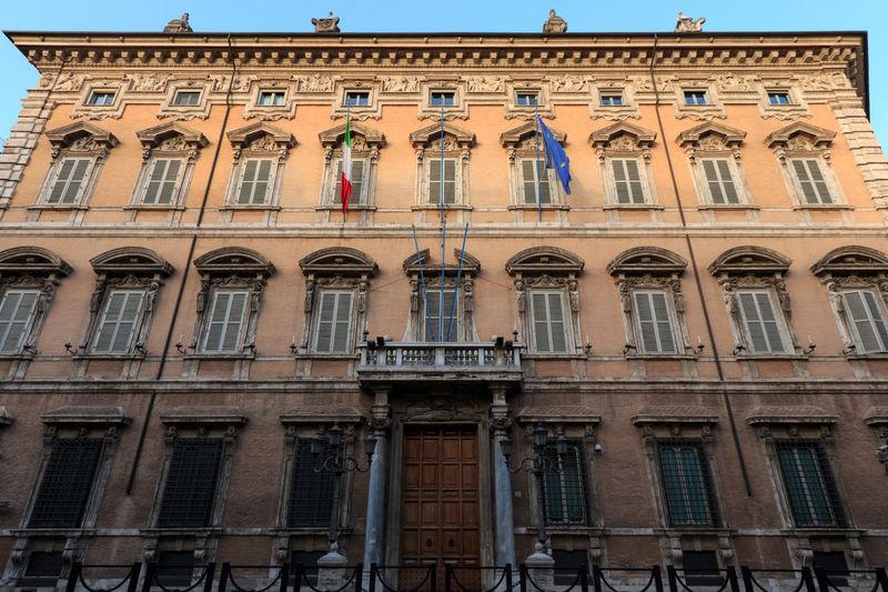 Rome Madama palace (Palazzo Madama) home of the Senate of the Italian Republic Coliseum Quirinale Rome Viminale Europe Fori Romani Italy Trevi