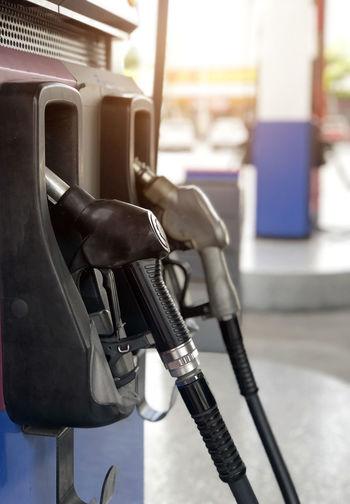 Close-up fuel pump