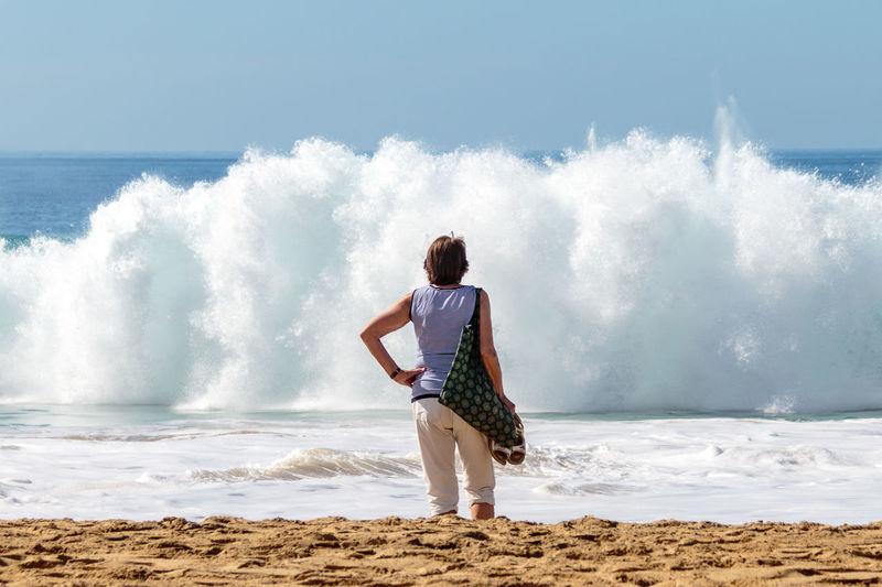 Fuerteventura Hollidays SPAIN Cloud - Sky Mouette Nature Outdoors Sand & Sea Vague International Women's Day 2019