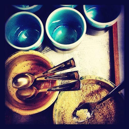 Drinking Chai Tea