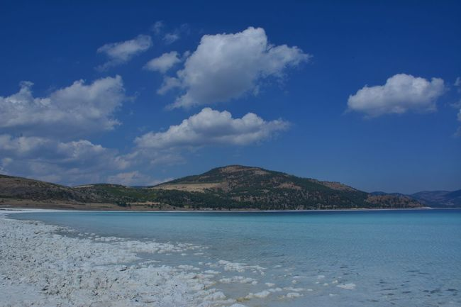 Salda Lake in Turkey Outdoors Landscape Cloud - Sky No People Blue Water Scenics Mountain Beauty In Nature Sky Nature EyeEmBestPics Travel Destinations Eye For Photography Eyem Gallery Tranquility Clear Sky Beach Sand EyeEm Gallery Eye4photography  EyeEm Team Lost In The Landscape