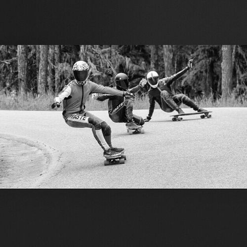 I like this shot! Who are these riders? @leecation @whistlerlbfest Whistlerlbfest Hastelongboards crew? Photo by moi