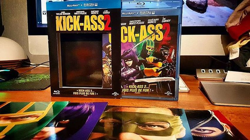 Arrivage Bluray de la semaine : Kickass2 Tailorjohnson Moretz Carrey