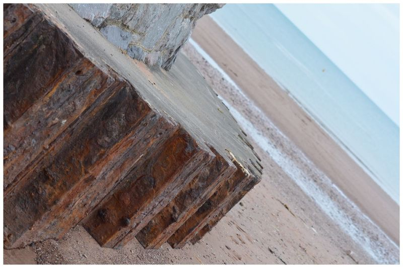 Rusty Iron on Paignton Beach Perspective Different Perspective Beach Beachphotography Hello World Check This Out Taking Photos EyeEm Gallery Eyemphotography Eyeemphotography Eye4photography  EyeEm Relaxing Enjoying Life Outdoors Metal Rust Rusting