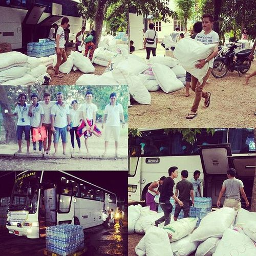 Yesterday our C3 (Cyber Charity Co-operation) Donation group went to one of the flooded area Pyay and donated many supplies. So tired but we are happy to do like this work. Our next target may be Nyoung Tone and Lat Pa Dann. Savemyanmar Myanmar Myanmarflood Disaster Flood