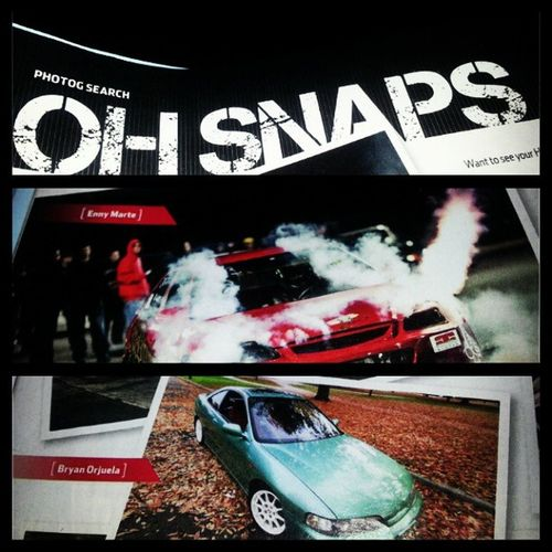 Shout out to Enny and Bryan for getting on the Ohh snap section on the June edition of Honda_tuning Oh_snap Photobomb Photography life nycalive dowork
