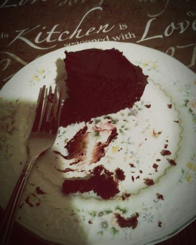 Heaven Chocolate♡ Dark Chocolate Cake Chocolate Cake Everything Chocolate SLICE Cake♥ I Love Chocolate! Desert Yummy♡