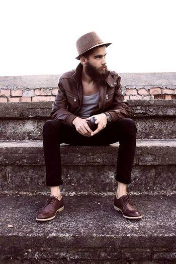 Beard Model Fashion Style