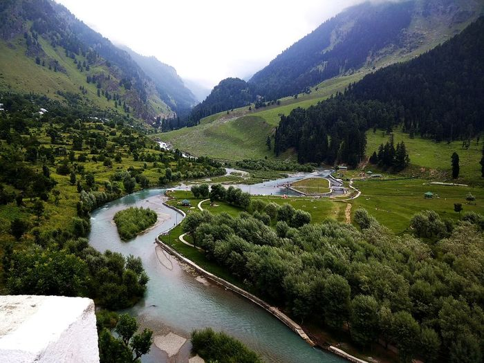 One touch of nature makes the whole world kin. ... Photography Beauty In Nature Summer Mountain River Betaabvalley Kashmir Nature Bliss Serenity Peace