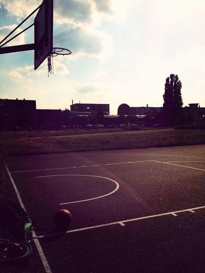 Basketball Streetball Above The Rim