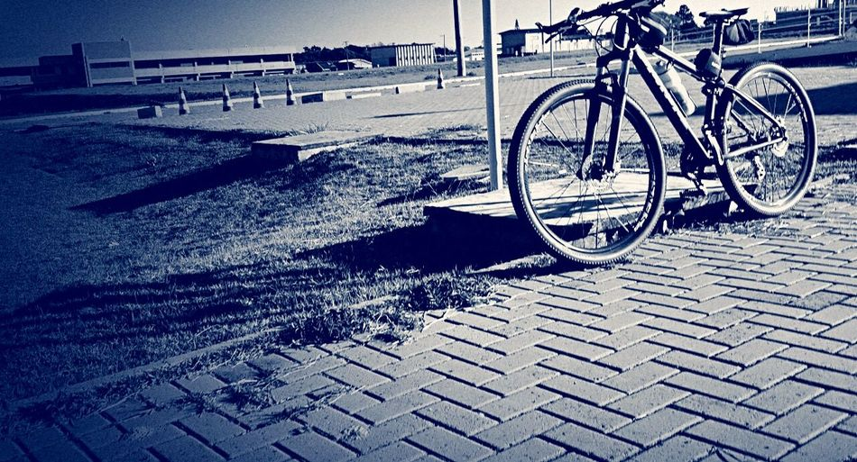 Bicycle Day Outdoors No People Water Sky Bicicleta Pedal Velo Bici First Eyeem Photo