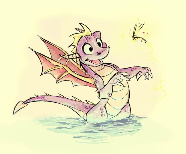 Spyro the hero of child Spyro Spyro's Adventure Spyro Art Sparks Fly Children Play Station Play Station 1 Play Station 1 Game