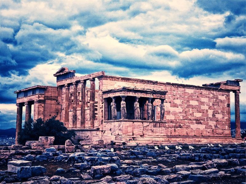 Cloud - Sky Old Ruin Architecture History Ancient Ancient Civilization Sky