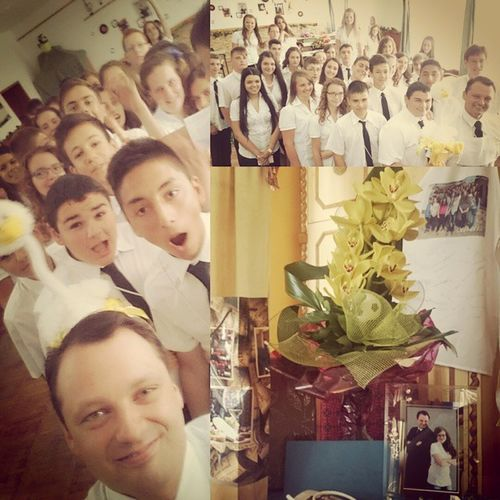 Elballagtunk! Köszönöm az elmúlt négy évet! De ne feledjük el, hogy jön a következő négy is! Bsrg Baksay 8a Graduation Selfie Collage Presents Class Latergram Kunszentmiklos Imtheboss Ig Ighun Instamood