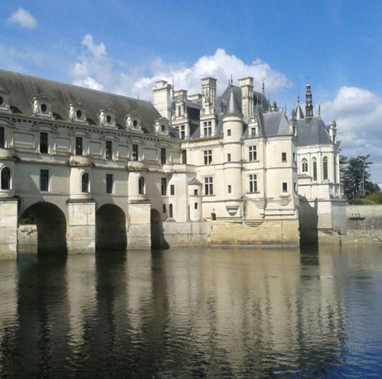 Picture I took of the beautiful chateau de Chenonceau on my vacation in France Arch Architecture Building Exterior Built Structure Castle Chenonceau Chenonceaux Château Cloud Cloud - Sky Day Façade Famous Place French Architecture Mansion No People Outdoors Reflection Riverbank Sky Travel Destinations Water Waterfront