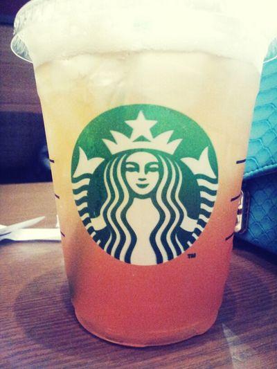 檸檬茶 Starbucks Lemon Tea HongKong