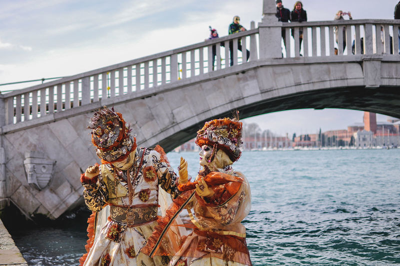 Architecture Bridge - Man Made Structure Built Structure Canal Carnival Carnival Crowds And Details Carnival Of Venice Carnival Spirit Day End Of Winter February Italia Italy Mask Masks Masque Masquerade Outdoors Transportation Travel Destinations Venetto Venezia Venice Venice Beach Venice Carnival