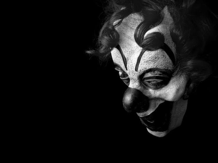 Clown Lament... Shootermag AMPt_community EyeEm Bnw Portrait