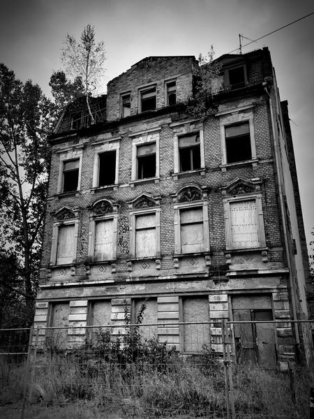 Plauen Sachsen Blackandwhite Black And White Abandoned Places Old Buildings Empty Places EyeEm Best Shots Abandoned Buildings Architecture_collection