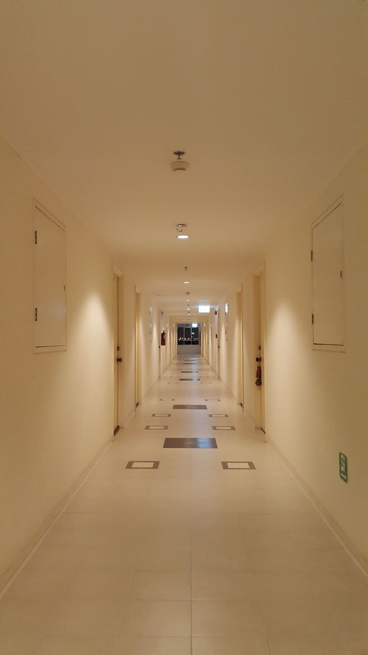 indoors, corridor, the way forward, empty, illuminated, no people, architecture, built structure, day