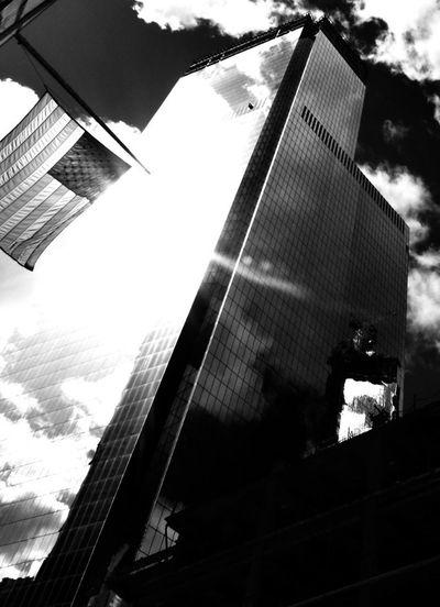 Goodmorning America Glass Reflection Around The World By Lufthansa The Explorer - 2014 EyeEm Awards