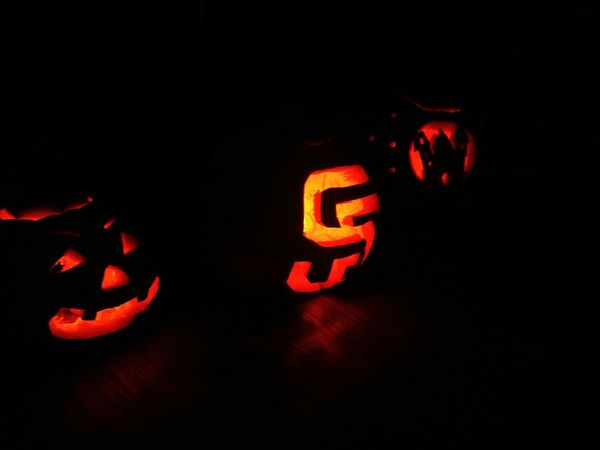 Overnight Success Dark Halloween Halloween EyeEm Darkness Nightphotography Pumpkincarving Jackolanterns Holidays