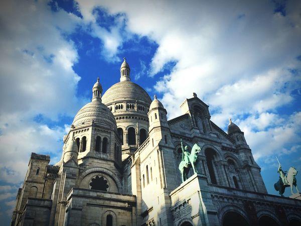 Architecture Place Du Tertre Montmartre Sacre Coeur City Paris Spirituality