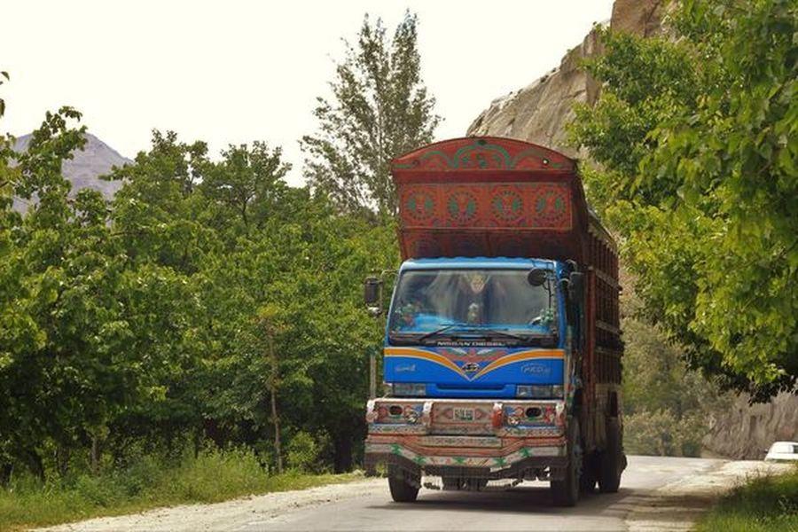 Skardu Pakistan Mode Of Transport Nature Northern Pakistan Tree