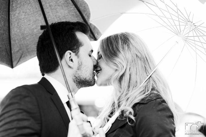 I Love Love - Romance in the Rain - Portrait