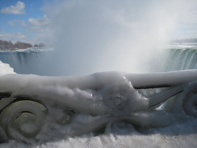Frozen Kanada Niagara Falls Canada Niagara Falls NiagaraFallsCanada Winter Beauty In Nature Canada Cold Temperature Frozen Nature Frozen Niagarafalls Nature Niagara Falls Winter No People Outdoors Sky Snow Water Winter Winter Wonderland