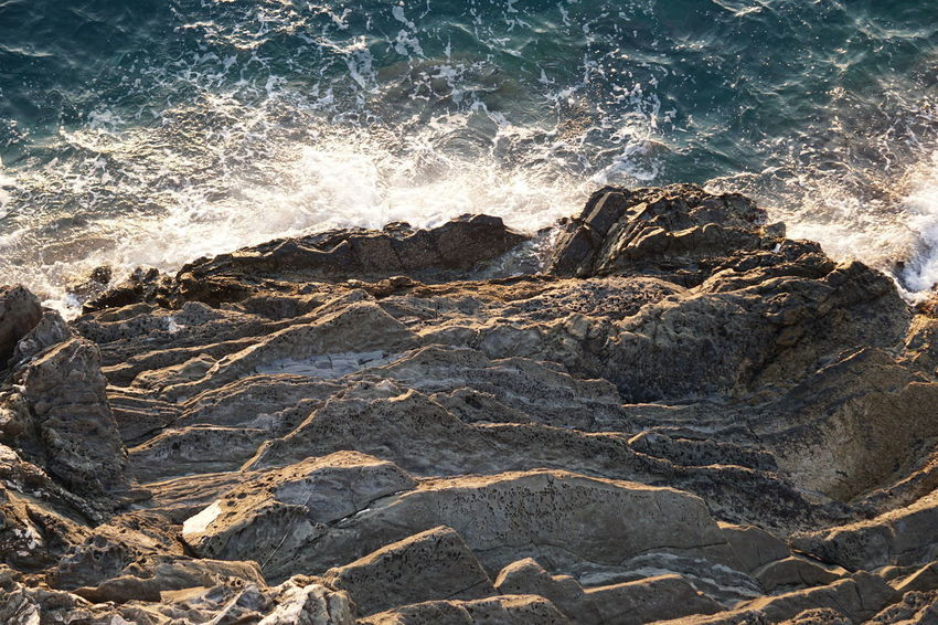 The edge of cliffs Vacations Cliffside Occupation Panoramic Photography Rock - Object Sea Seascape Waves EyeEmNewHere