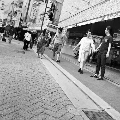 Streetphotography_bw B&w Street Photography Blackandwhite City Street CityWalk On The Road People People Photography Snapshot Enjoying Life Holiday at Kichijoji 吉祥寺 , Tokyo Japan