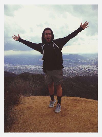 Hiking yo!