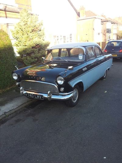 Walking Ford Old Car Ford Consul Consul