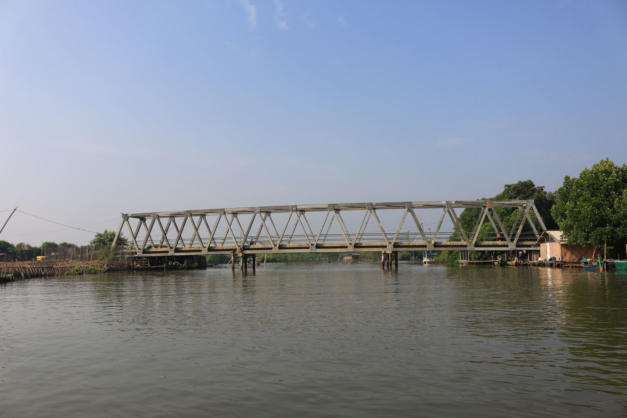water, architecture, built structure, river, waterfront, bridge - man made structure, outdoors, day, nature, sky, no people