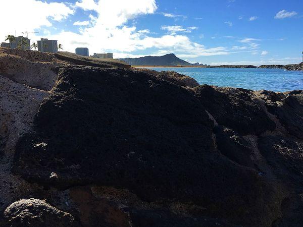 Diamond Head from Magic Island Lagoon First Eyeem Photo Landscape Landmark Honolulu