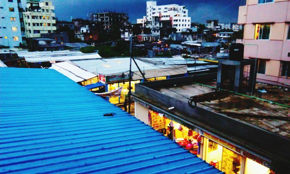 Just Before Rain Dhaka Rainy Days☔ Evening