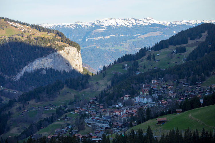 EyeEm Nature Lover Alps Beauty In Nature Day Landscape Mountain Nature No People Outdoors Peak Scenery Sky Sunrise Switzerland Wengen
