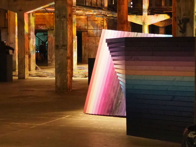 perspectiveplayground BERLIN 2017 2017 Berlin Dickes_B Architecture Beberlin Built Structure Day Indoors  Multi Colored No People Textile Weberlin
