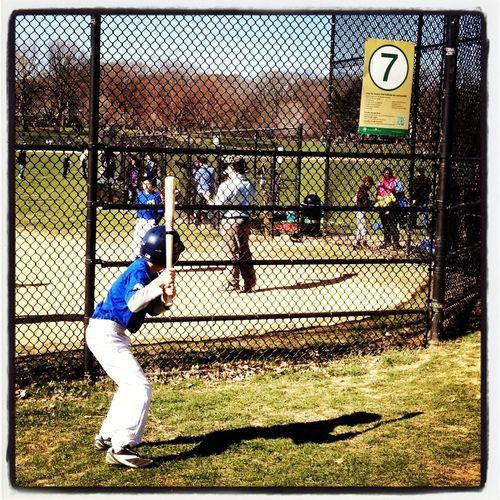 Streetphotography Baseball Enjoying The Sun Spring