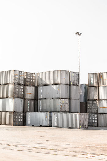 Boxes Container Geometric Shape Geometric Shapes Gray Habour Industrial Landscapes Industrial Photography Logistics Shipping  Staples Street Photography Streetlights Stripes Pattern Transportation Urban Urban Exploration Urban Geometry Beautifully Organized BYOPaper! The Street Photographer - 2017 EyeEm Awards