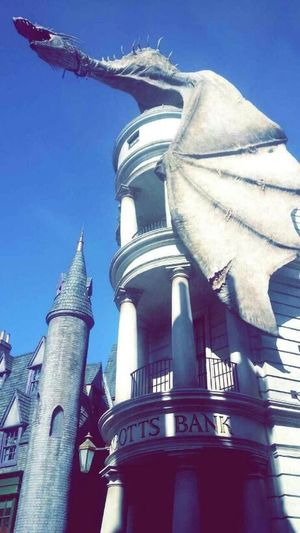 The EyeEm Facebook Cover Challenge Island Of Adventure Sunset #sun #clouds #skylovers #sky #nature #beautifulinnature #naturalbeauty #photography #landscape Universal Studios  Harry Potter Hogwarts Rollercoaster Islandofadventure Gringotts