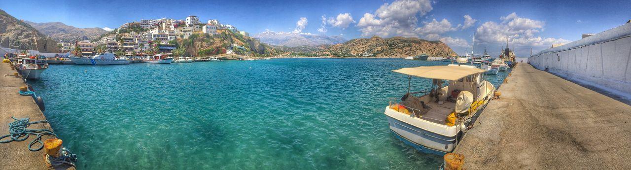 Holiday POV Agia Galini Greece, Crete Holiday Holidays Holiday♡ Sea Seaside Sea View Panorama