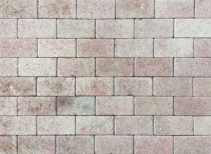 Top view of a section of cement bricks pavement Full Frame Backgrounds Pattern Textured  Brick Wall No People Architecture Wall - Building Feature Geometric Shape Built Structure Day Stone Paving Stone Brick Wall Solid Block Shape Outdoors Rough Concrete