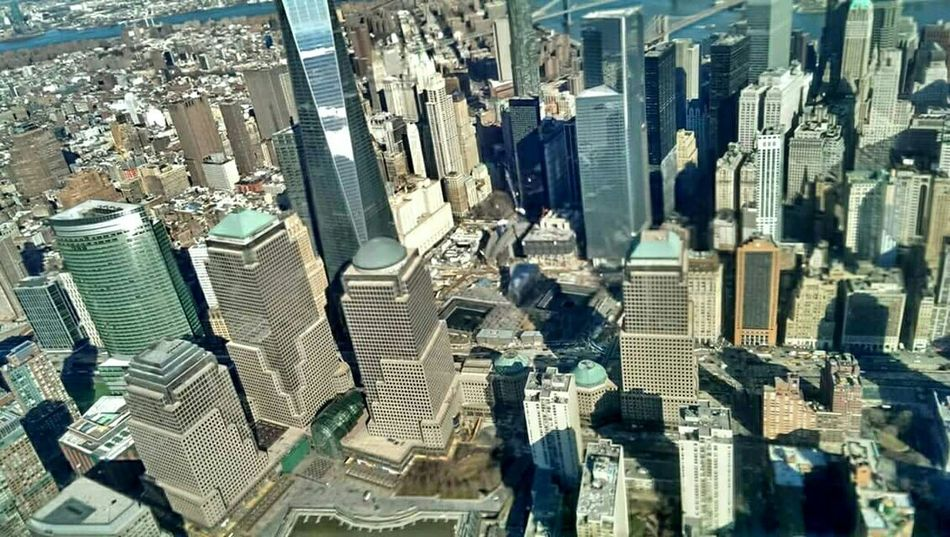 New York City: the helicopter experience. Where the Twin Towers stood... New York City New York Architecture Urban Geometry World Trade Center September11 Memorial Twin Towers From My Point Of View From Above  NYC